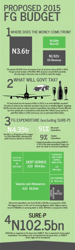 FGN Proposed 2015 Budget